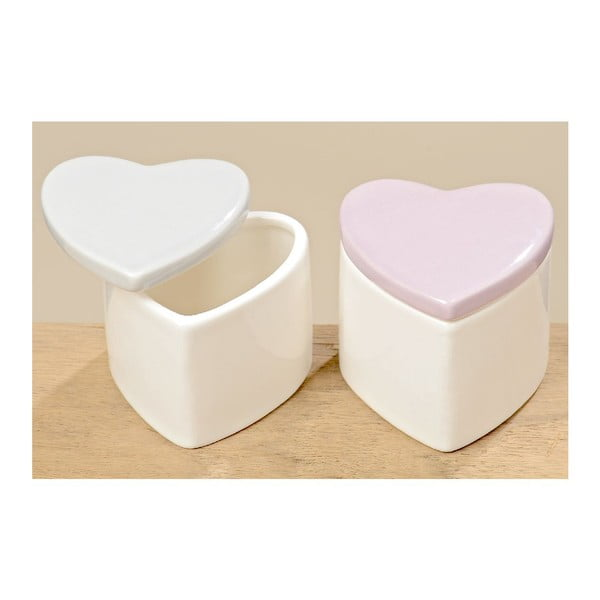 Sada 2 boxů Heart