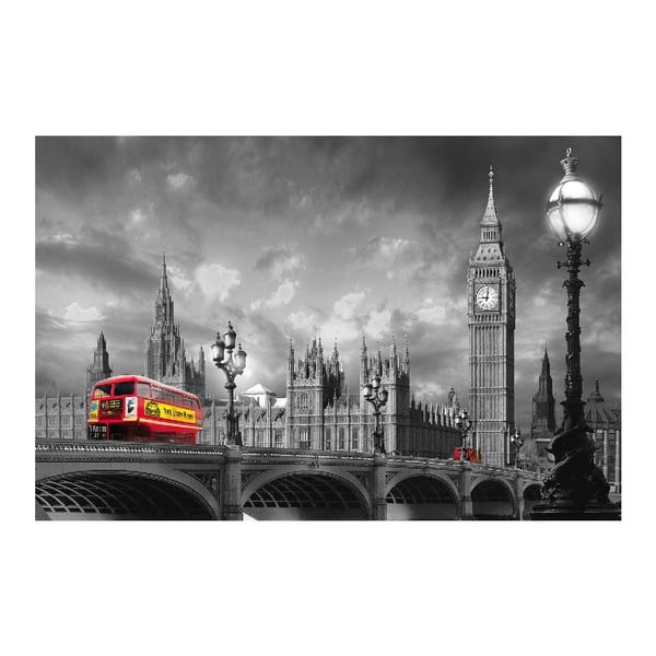 Maxi plakát Bus On Westminster, 175x115 cm
