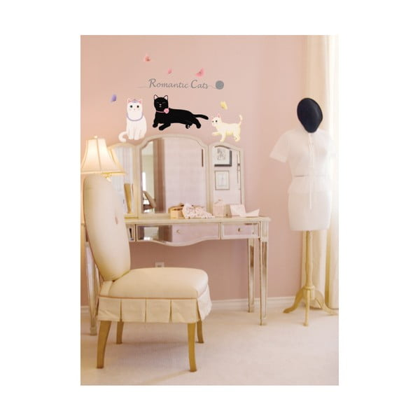 Set autocolante Ambiance Romantic Cats
