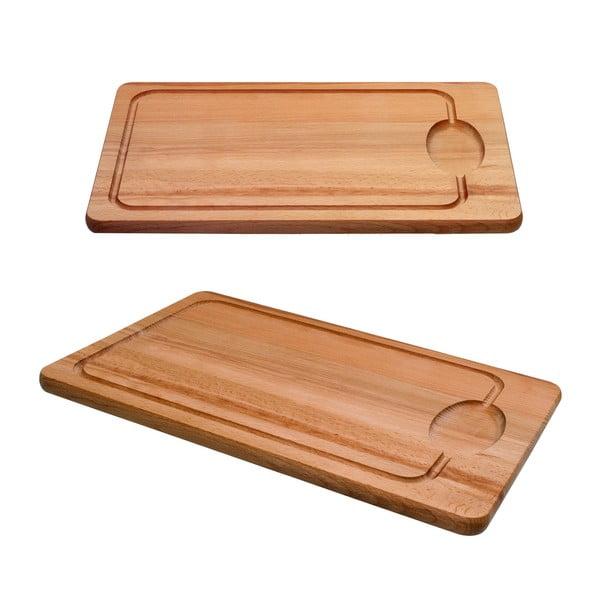 Dřevěné prkénko Pinie, 45x30 cm