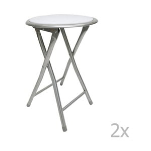 Set 2 scaune Esidra Roberto, alb