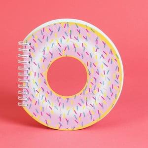 Zápisník ve tvaru donutu Just 4 Kids Donut, 100 stránek