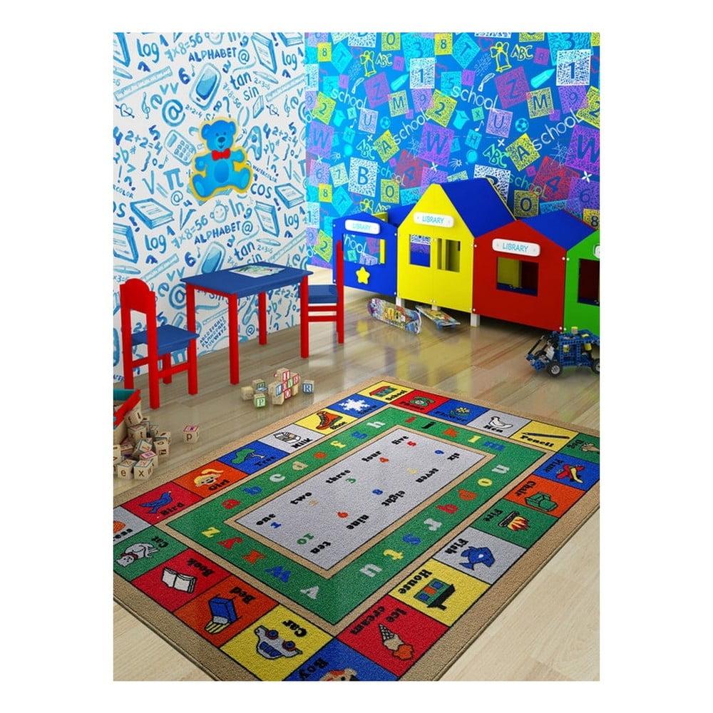 Dětský koberec Lesson, 100 x 150 cm