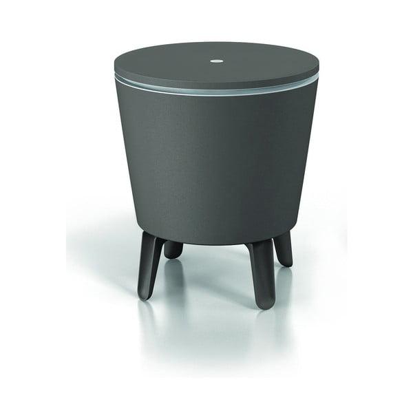 Šedý zahradní barový stolek Keter Cool Little