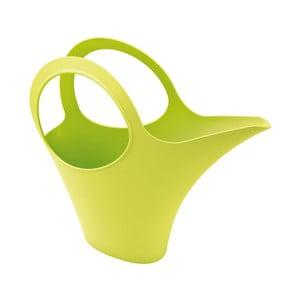 Zelená plastová konev Koziol, 2l