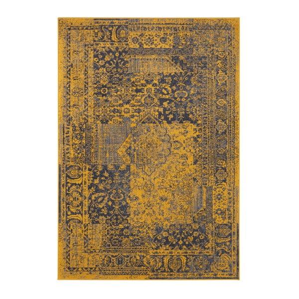 Żółto-szary dywan Hanse Home Celebration Garitto, 80x150 cm
