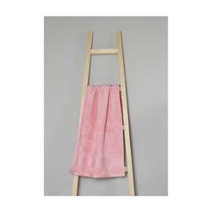 Světle růžový bavlněný ručník My Home Plus Spa, 50 x 90 cm