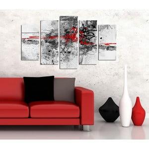 Pětidílný obraz Moderna, 110x60 cm