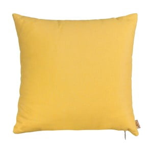 Žlutý povlak na polštář Apolena Simply Yellow, 41x41cm
