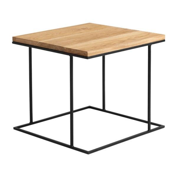 Konferenční stolek s deskou v dekoru dubového dřeva Custom Form Walt, délka50cm