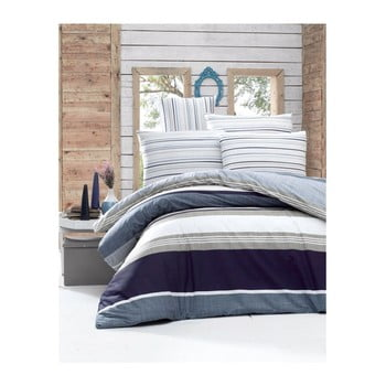 Lenjerie de pat cu cearşaf şi 2 feţe de pernă Savoy Malo, 200 x 220 cm de la Victoria