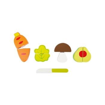 Set jucării din lemn pentru copii Legler Vegetable de la Legler