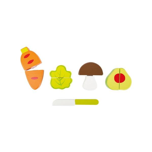 Set detských drevených hračiek Legler Vegetable