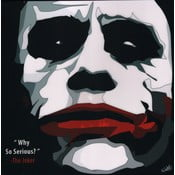Obraz The Joker - Why so serious