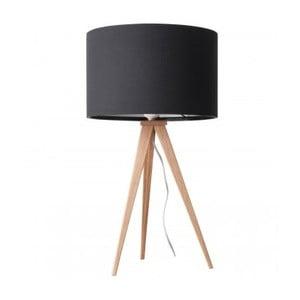 Lampă de masă Zuiver Tripod Wood, negru
