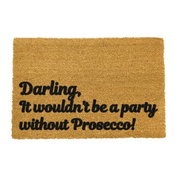 Covoraș intrare din fibre de cocos Artsy Doormats Darling Prosecco, 40 x 60 cm imagine