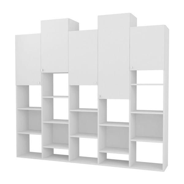 Imtrak fehér könyvespolc - Homitis
