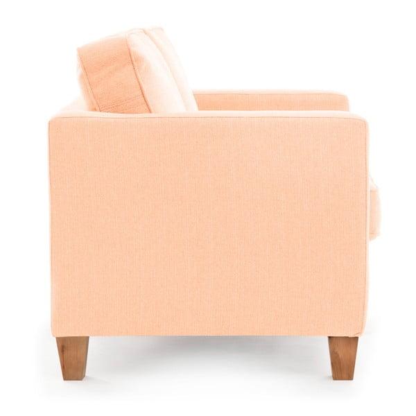Canapea cu 2 locuri Vivonia Sorio, roz deschis