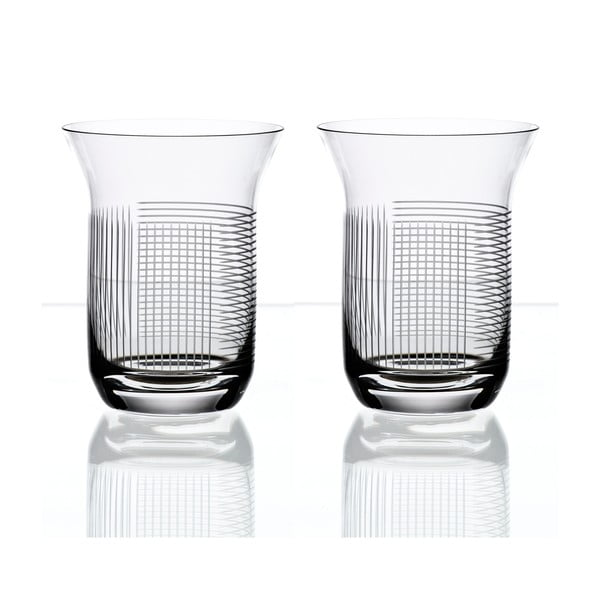 Sada 2 sklenic na vodu Lines od Olgoj Chorchoj, 300 ml