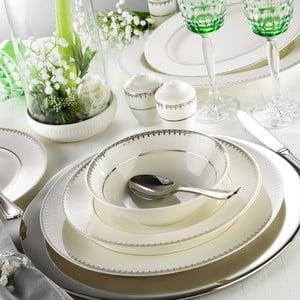 28dílná sada nádobí z porcelánu Kutahya Libia