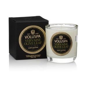Lumânare parfumată Voluspa Maison Votive, aromă de palisandru, frunze de măslin și de citrice, 25 ore