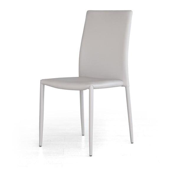 Jídelní židle Dani, světle šedá