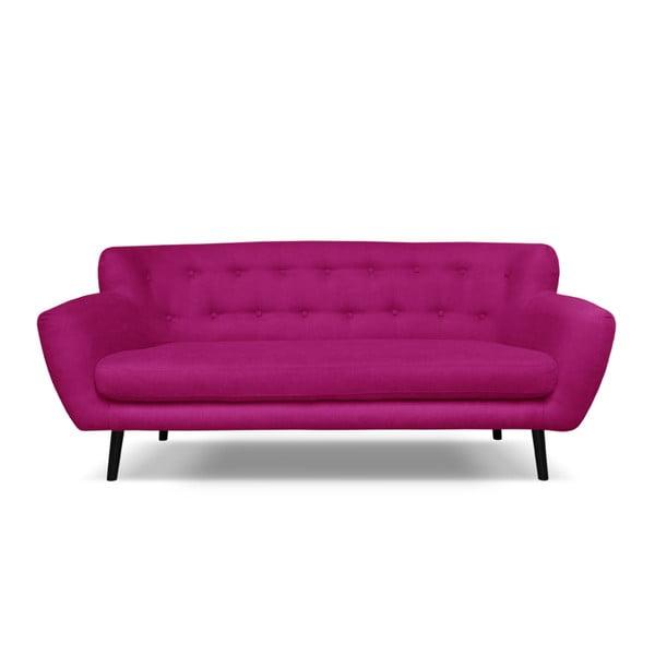 Hampstead rózsaszín háromszemélyes kanapé - Cosmopolitan design