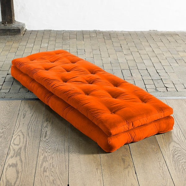 Rozkládací křeslo Karup Buckle Up Orange