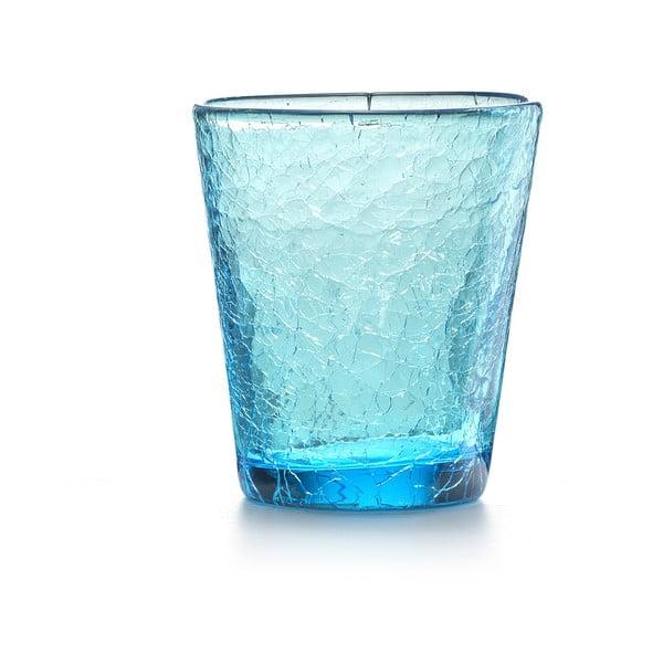 Set 6 ks sklenic Fade Ice, modrý