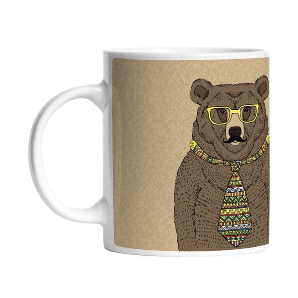 Keramický hrnek Smart Bear, 330 ml
