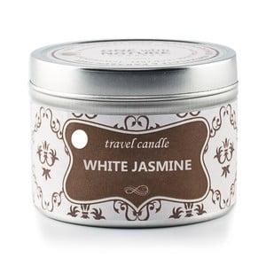 Vonná svíčka v plechovce White Jasmine, 25 hodin hoření