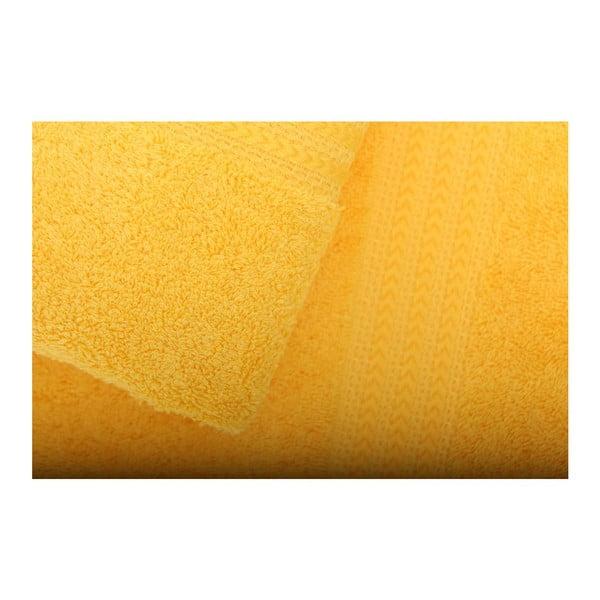 Sada 3 žlutých ručníků Rainbow