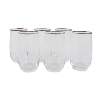Set 6 pahare din sticlă Fotis