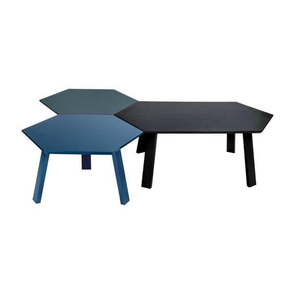 Konferenční stolek Hexagon Light Grey, 47x37x47 cm