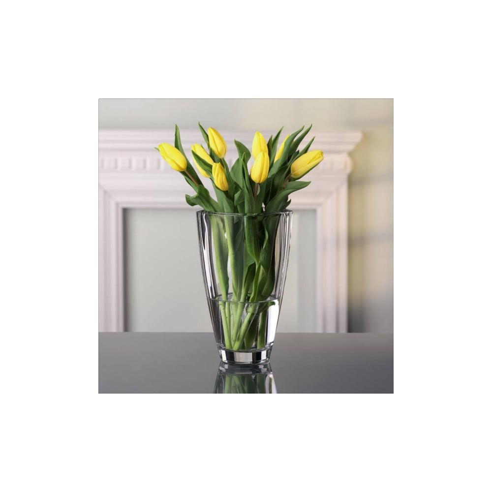 Váza z křišťálového skla Nachtmann Carré, výška 25 cm Nachtmann