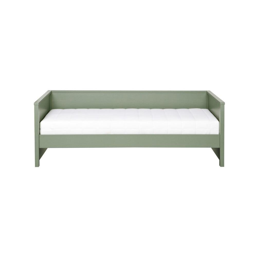 Zelená postel/sofa De Eekhoorn Nikki, 200 x 100 cm