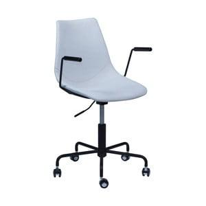 Světle šedá kancelářská židle DAN-FORM Denmark Pitch