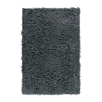 Covor baie Wenko Chenille, 80 x 50 cm, gri imagine
