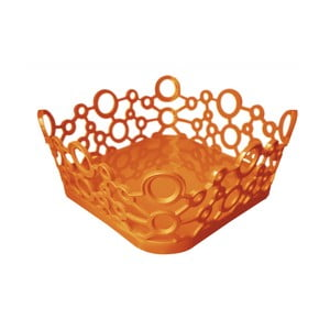 Košík ForMe Orange, 24x10 cm