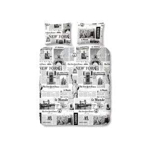 Povlečení Newspaper, 140x200 cm
