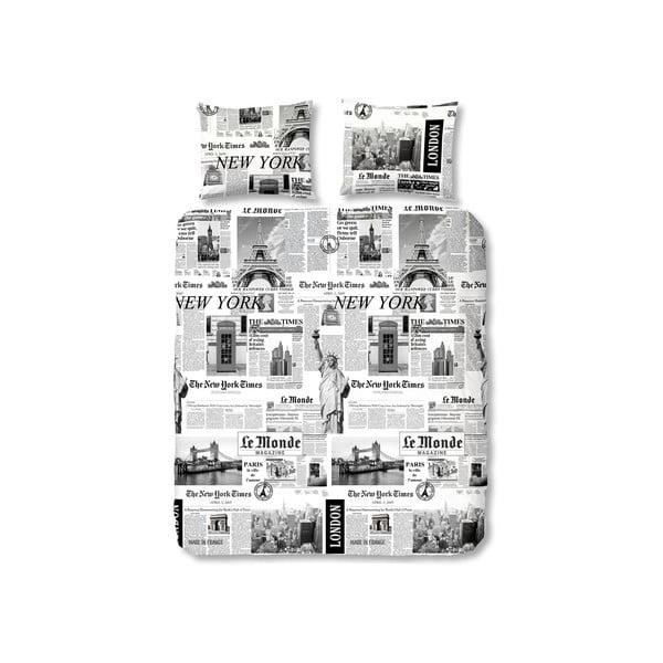 Povlečení Müller Textiel Newspaper, 240x200cm