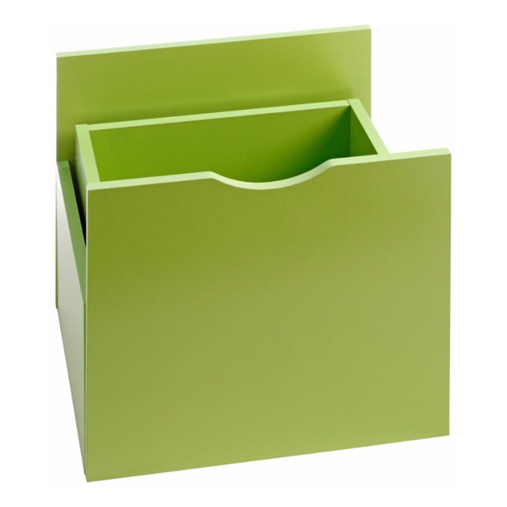 Zelená zásuvka do regálu Støraa Kiera, 33x33cm