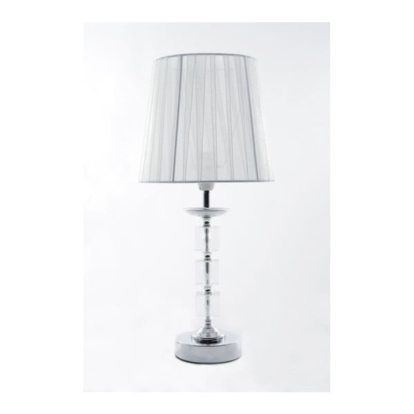 Stolní lampa Crystal White, 40 cm