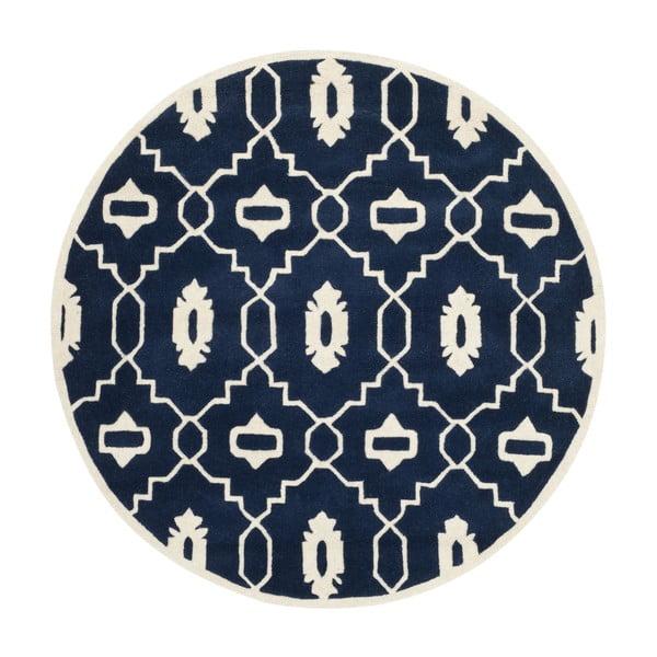 Koberec Mondello 152 cm, tmavě modrý