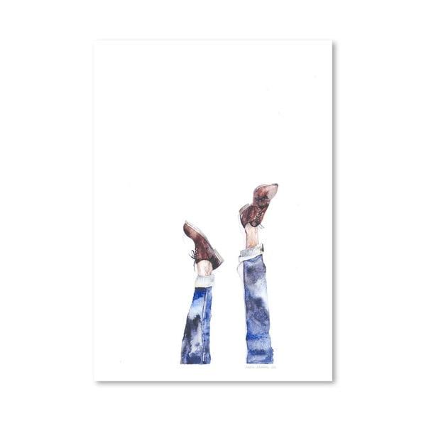 Plakát Upside Down, 30x42 cm