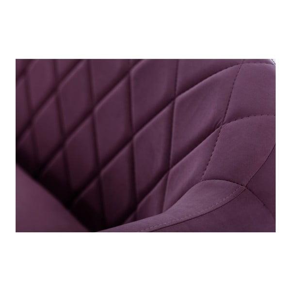 Trojmístná pohovka Diva Criss Cross Purple