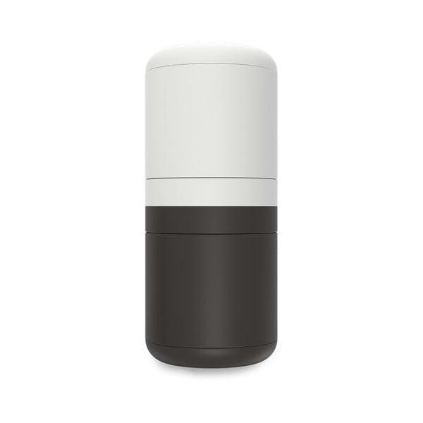 GoEat fekete-fehér kompakt só- és borsszóró - Joseph Joseph