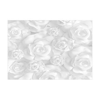Tapet format mare Bimago Plaster Flowers, 400 x 280 cm imagine
