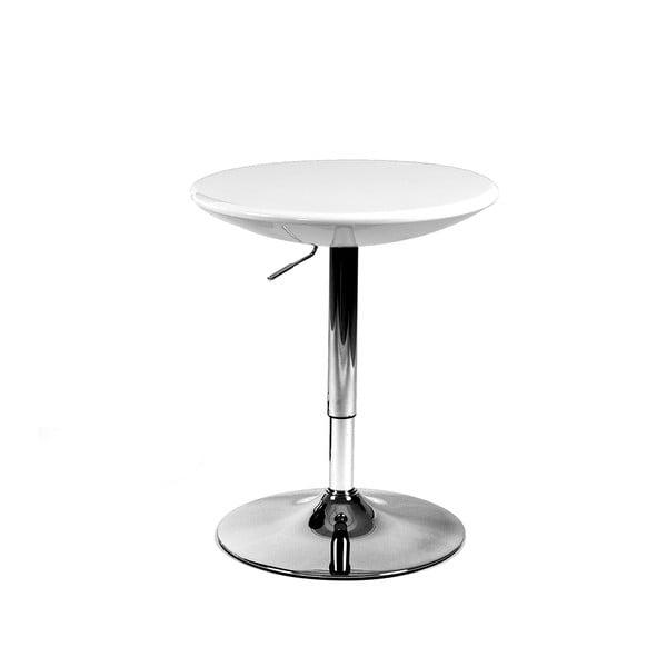 Posuvný svačinový stolek Milan, bílý