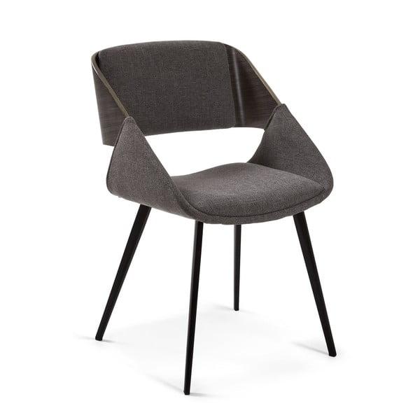 Ciemnoszare krzesło do jadalni La Forma Herrick